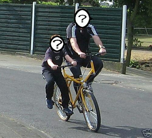 Twin Bike Melange