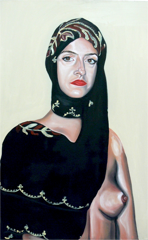 maple-self-portrait-with-my-mothers-headscarf-kate-moss-breast