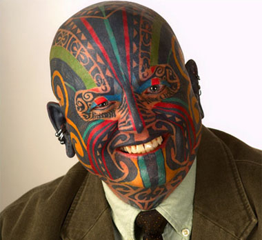 tattoo on face. tattoo-face. Share this: Share