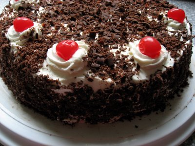 This is the original black forest cake recipe by master pastry cook ...