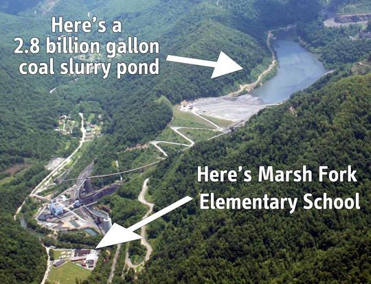 Marsh Fork Elementary, Sunrise, WV.
