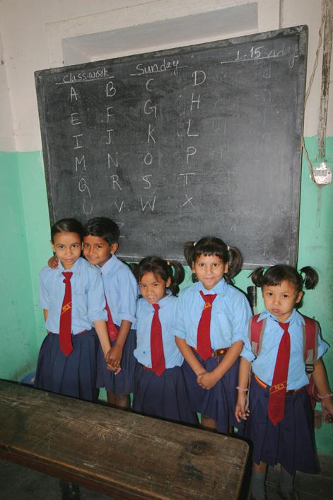 classroom nepal aid