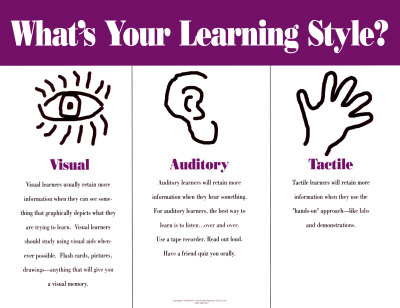 Learning Styles Melange