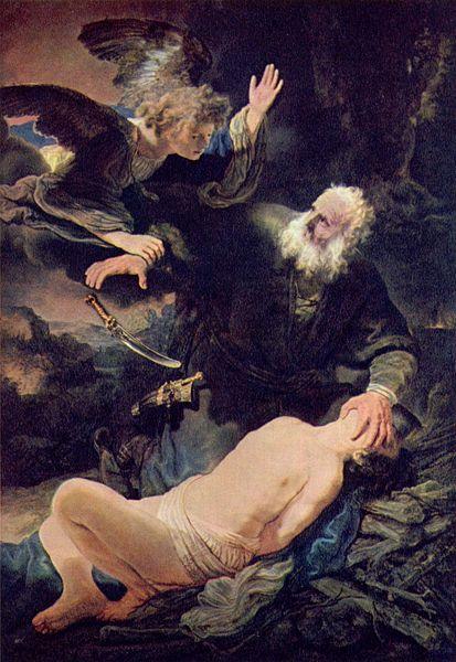 Rembrandt Abraham-Isaac