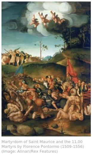 saint maurice martyrdom