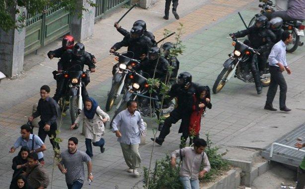 iranian riot police